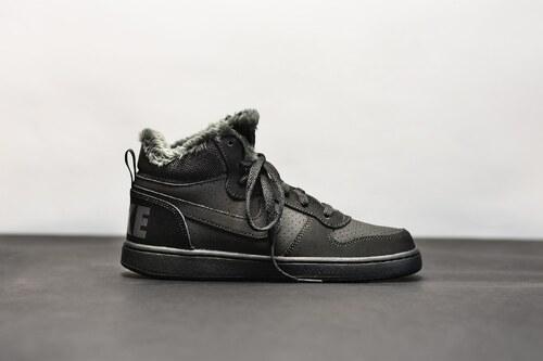 cc10ca2ec Dětská Zimní obuv Nike COURT BOROUGH MID WNTR GS BLACK/BLACK-ANTHRACITE