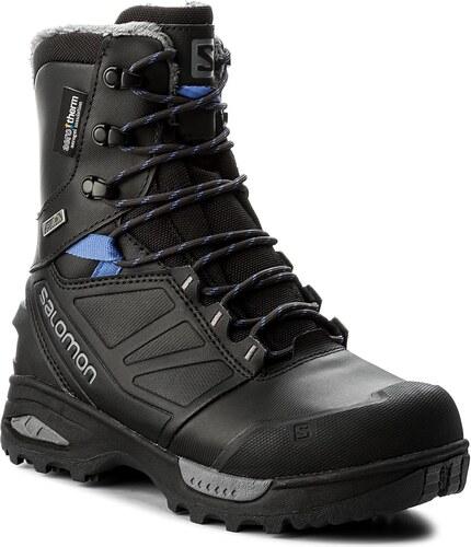 285ac49a2fd8d Trekingová obuv SALOMON - Toundra Pro Cswp 399722 21 G0  Phantom/Black/Amparo Blue