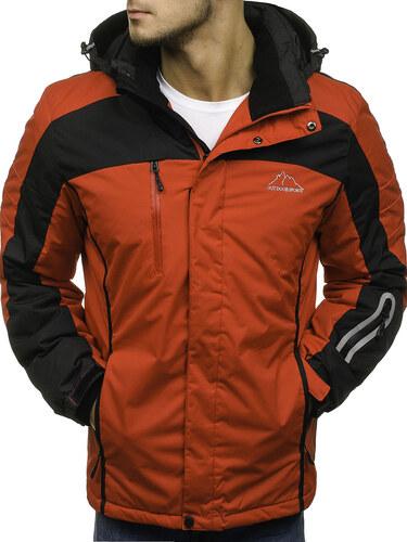 2309578e5 Červená pánska lyžiarska zimná bunda BOLF F806 - Glami.sk