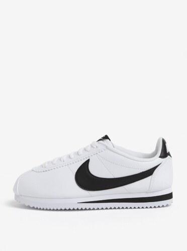 d26a3a920ca16 Čierno-biele dámske tenisky Nike Classic Cortez - Glami.sk