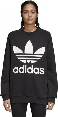 04fec08d2 Dámska mikina adidas Originals OVERSIZED SWEAT (Čierna) - Glami.sk