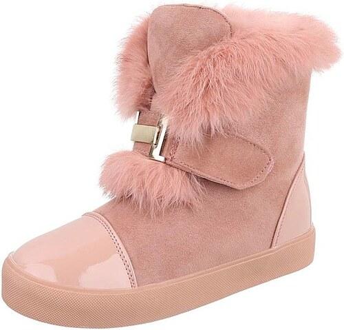 691e84fc5a12b Dámske vysoké zimné topánky s kožušinou - Glami.sk