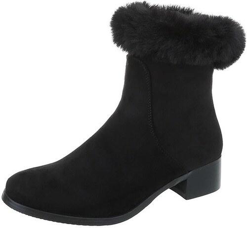 336edc116a4b1 Dámske vysoké zimné topánky s kožušinou - Glami.sk