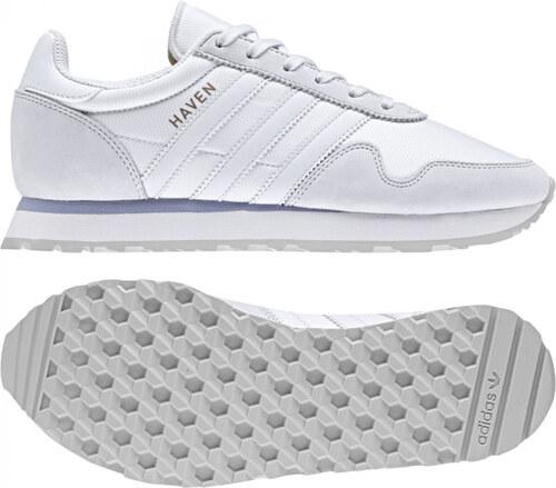 17371e2e6a26a Dámske tenisky adidas Originals HAVEN W (Biela / Šedá) - Glami.sk