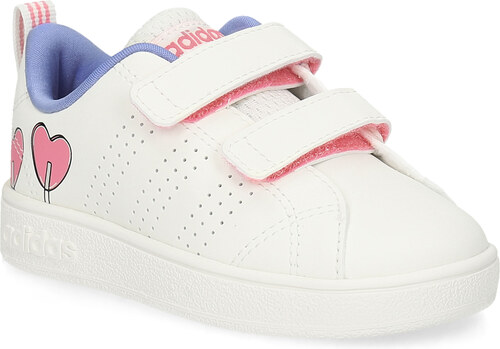 b7141657d21e7 Adidas Detské biele tenisky so srdiečkami - Glami.sk