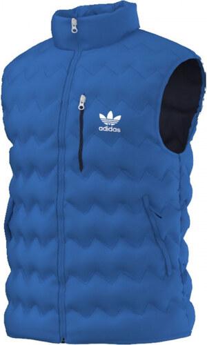 a80b444f3 Pánska vesta adidas Originals SERRATED VEST (Modrá) - Glami.sk