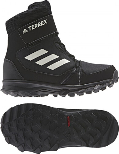 5bfa93c0a026b Zimné topánky adidas Performance TERREX SNOW CF CP CW K (Čierna / Biela /  Šedá