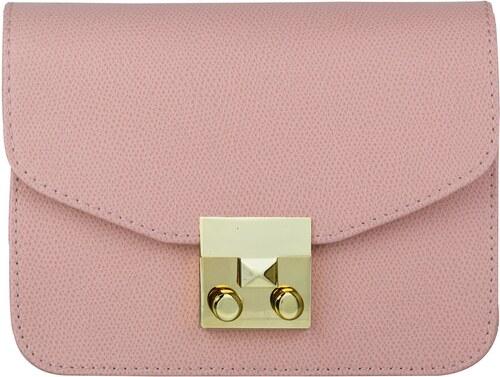 24d8b468282e7 Wojewodzic extravagantná kožená kabelka malá ružová 31716/CE07/Z ...