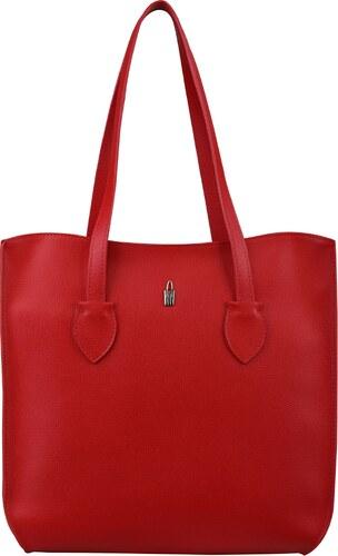 2082ef851aab5 Wojewodzic kožené kabelky luxusné veľké do ruky červené 31746/CS08 ...