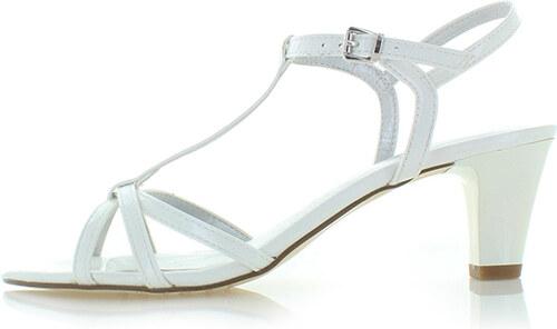 228540849 Tamaris Biele sandále 28329 - Glami.sk