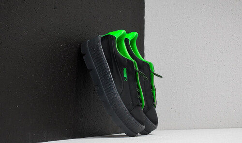 654e3a8618e80 Puma Fenty x Rihanna Cleated Creeper Surf Wn´s Puma Black/ Green Gecko/