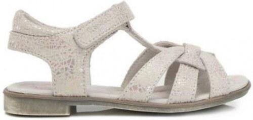f0b393927e6fe Dievčenské letné sandále D.D.STEP K356-6002BL white - Glami.sk