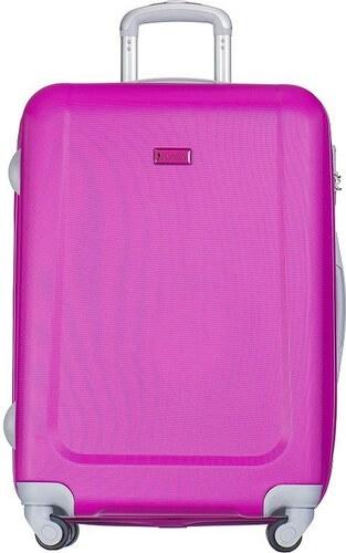 0610c77c7f950 Puccini cestovné kufre na kolieskach do lietadla veľké 99 litrov ružová  Ibiza ABS04A, NEW