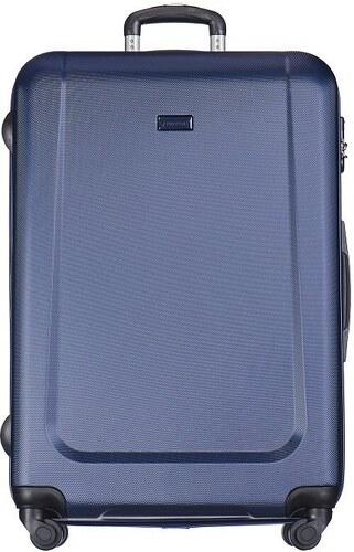 f6f1d4d824f55 Puccini cestovné kufre na kolieskach veľké 99 litrov tmavomodré Ibiza ABS04A