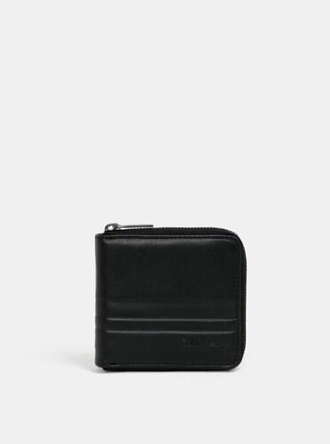 05269584e Čierna pánska kožená peňaženka Calvin Klein Jeans - Glami.sk