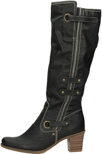 de359c78f Rieker dámske zimné čižmy s ozdobným zipsom - čierne - Glami.sk
