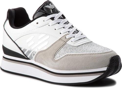 b525f2d9b9ffe Sneakersy EMPORIO ARMANI - X3X046 XL214 F007 Plaster/White - Glami.sk