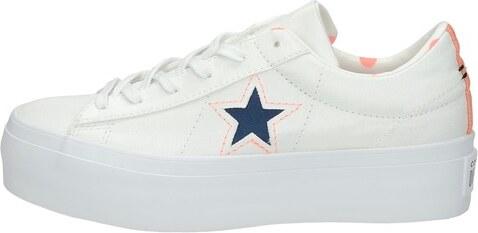 f2ced3a591230 Converse dámske štýlové tenisky na platforme - biele - Glami.sk