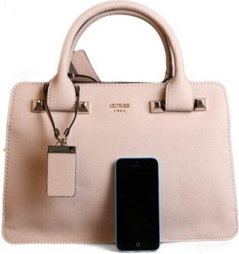 c15e2f391 Guess ružové luxusné značkové kabelky do ruky VG 67 - Glami.sk