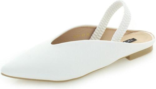 b8616eb92 Vices Biele balerínky Brooke - Glami.sk