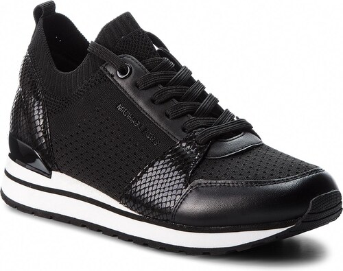 1d1a5c5781482 Sneakersy MICHAEL MICHAEL KORS - Billie Knit 43T8BIFS2D Black - Glami.sk