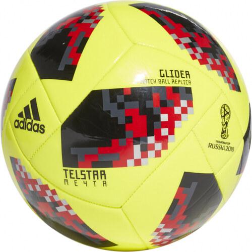 367230499 Futbalová lopta adidas Performance W Cup KO Glide (Žltá / Čierna ...
