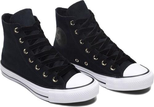 5f831374615b0 Converse čierne členkové tenisky Chuck Taylor All Star Hi Black/White