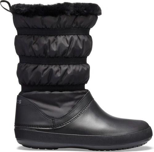 a24c97fc8 Crocs čierne snehule Crocband Winter Boot Black - Glami.sk