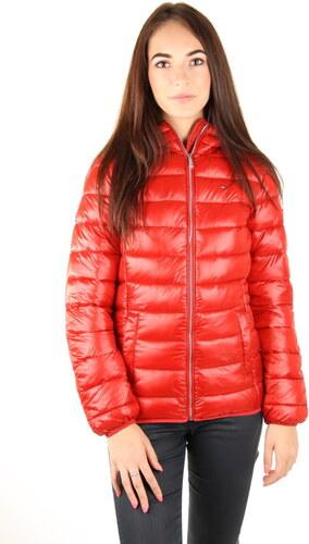 22b4ebd52 Tommy Hilfiger dámská červená bunda - Glami.sk
