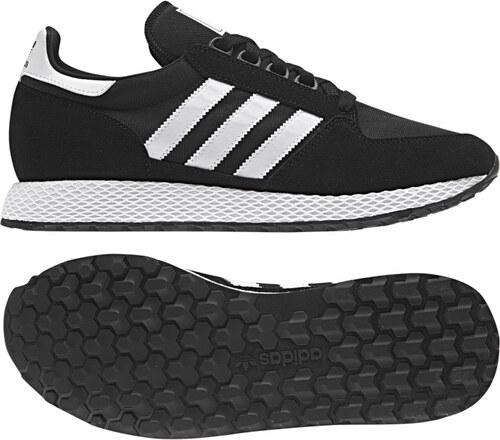 5e3cf02cc05c2 Pánske tenisky adidas Originals Forest Grove (Čierna / Biela) - Glami.sk