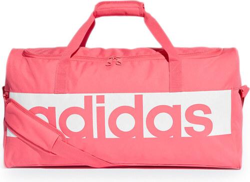 21e2220917375 adidas PERFORMANCE Ružová športová taška Linear Performance Medium ...