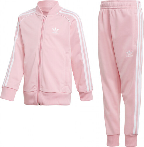 107721c5cf4d4 Dievčenská súprava adidas Originals L TRF SST (Ružová) - Glami.sk