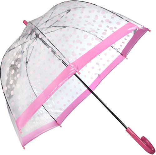 2c2cc02a8 Fulton Dámsky priehľadný palicový dáždnik Birdcage 2 raining BUTTERFLIES  L042