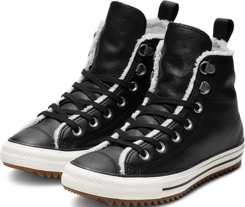 7f144a7f377ba Converse čierne unisex zimné tenisky Chuck Taylor All Star Hiker Boot Hi  Black