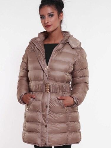 d20a4d526 ELEGANCE Dlhá zimná bunda výpredaj AKCIA -80% L - Glami.sk