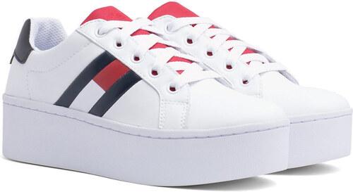 044ccba126a97 Tommy Hilfiger biele tenisky na platforme Tommy Jeans Icon Sneaker ...