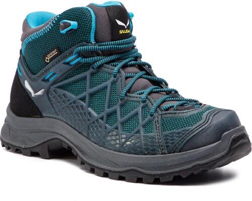 2bdc3a82a Trekingová obuv SALEWA - Wild Hiker Mid Gtx GORE-TEX 61341-0340 French Blue