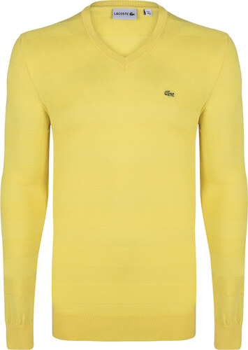 1040ca2fd0a2f Žltý elegantný sveter od Lacoste - Glami.sk