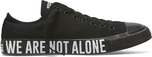Converse CTAS OX We Are Not Alone Low Top Black Glami.sk