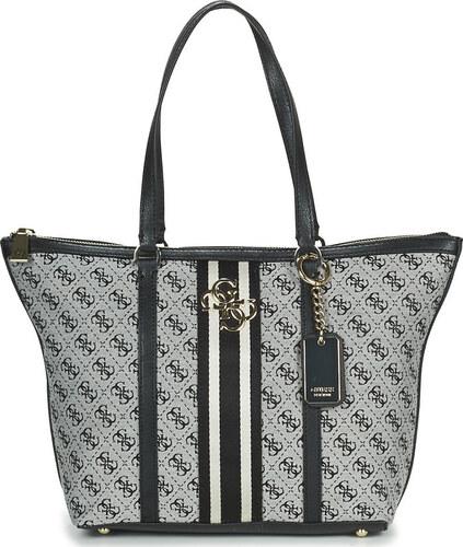 Guess dámska šedá kabelka so vzorom Glami.sk