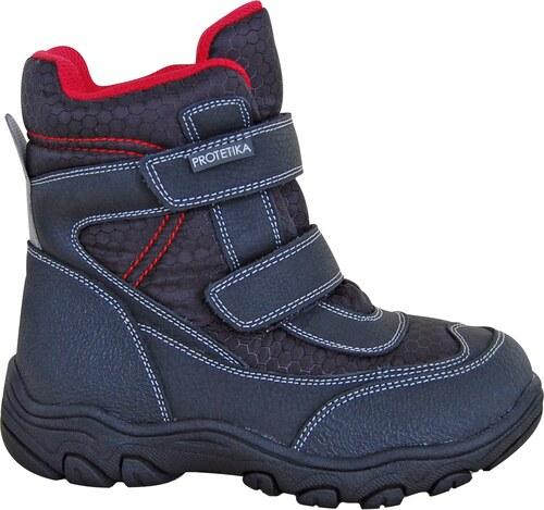 15527f519c679 Protetika Chlapčenské členkové zateplené topánky Stadler - čierne ...