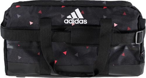 63e24bd7b2fea adidas PERFORMANCE Čierna športová taška ADIDAS 3-Stripes Essentials Team  Bag