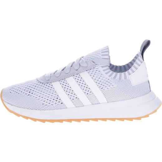 0b0548255 Sivo-biele dámske tenisky adidas Originals Flashback - Glami.sk