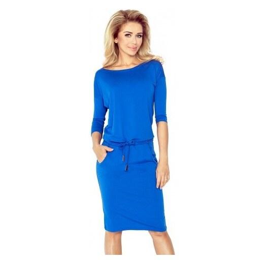 08d4a6f33 numoco Športové dámske šaty Gladys, Royal Blue (13-83) - Glami.sk