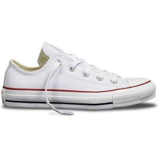 962cf7b715a44 Nízke kožené topánky Converse CHUCK TAYLOR ALL STAR Leather White - Glami.sk
