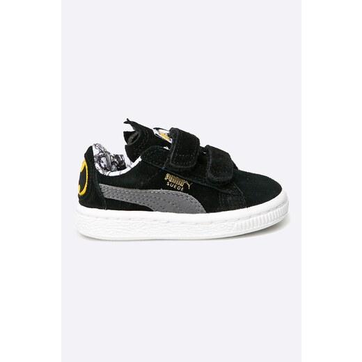 9ffc0717545b4 Puma - Detské topánky Suede Batman V - Glami.sk
