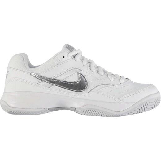 d86e2f0722a58 Halová obuv Nike Court Lite dám. biela/strieborná - Glami.sk