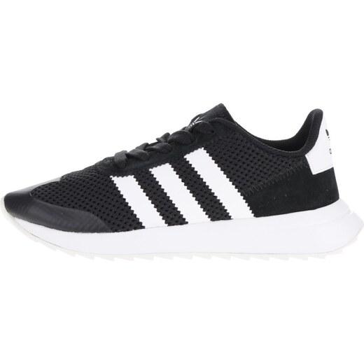 a4bda0d0f5f19 Bielo-čierne dámske tenisky adidas Originals Flashback - Glami.sk